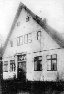 Caspar Heinrich Hauschildt (1859-1958) lived here as a child.