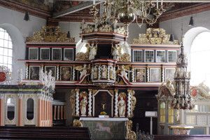 Church altar at Neuenfelde