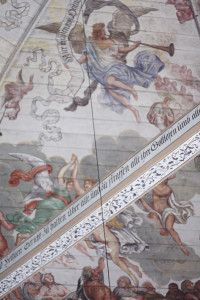 ceiling of Neuenfelde church